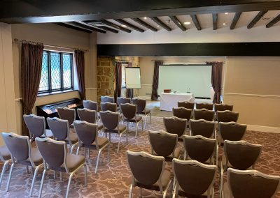 The Priest House Conference Room Set Up